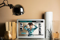 Online zakupy: online sklep, sprzedaż rzeczywistość wirtualna produkty Fotografia Royalty Free