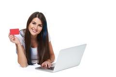 Online zakupy pojęcie obrazy royalty free