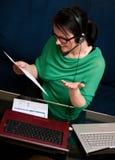 Onlinearbeit Stockfotografie