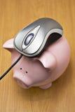 Onlinebankverkehr lizenzfreies stockbild