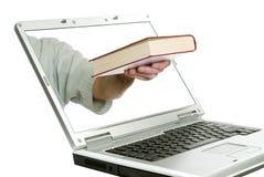 Onlinebuch-Speicher stockbilder