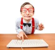 Onlineeinkaufen Stockfoto