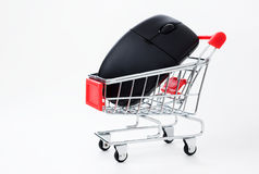 Onlineeinkaufen Stockbild