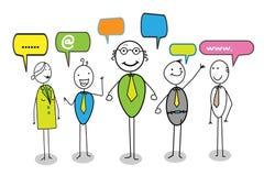 Onlinegemeinschaft Lizenzfreie Abbildung