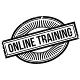 Onlinego szkolenia znaczek Obraz Stock