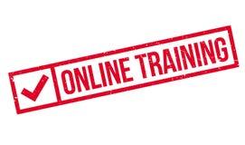 Onlinego szkolenia znaczek Zdjęcia Stock