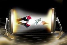 Onlinekauf Lizenzfreies Stockfoto