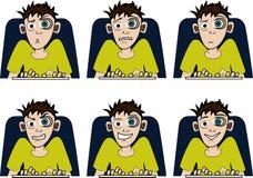 Onlinekerl Lizenzfreie Stockbilder