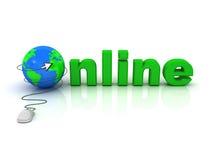 Onlinekonzept Lizenzfreie Stockfotos