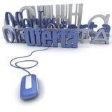 Onlineoferta Lizenzfreies Stockfoto