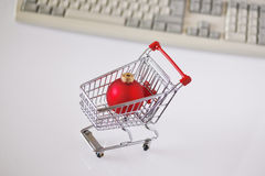 Onlineshopping Stock Photo