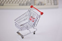 Onlineshopping Stock Image