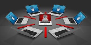 Onlinesicherheit Lizenzfreie Stockfotografie