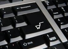 Onlinesystem. Stockfoto