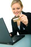 Onlineverhandlung Lizenzfreies Stockbild