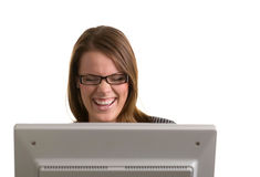 Onlinewitz Lizenzfreies Stockbild