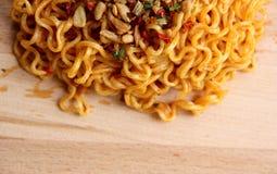 Onmiddellijk Fried Noodle stock fotografie