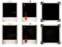 Onmiddellijke filmfoto's Stock Foto's