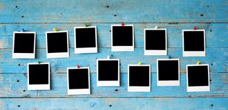 Onmiddellijke fotoframes Royalty-vrije Stock Foto