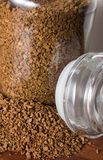Onmiddellijke koffie Stock Afbeeldingen