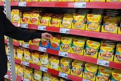 Onmiddellijke soepen Stock Foto's
