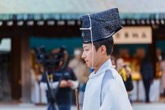 Onmyoji (japansk präst) Royaltyfria Foton