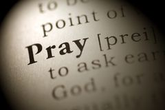 Ono modli się zdjęcia royalty free