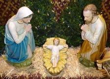 Ono modli się dla jezus chrystus Obraz Royalty Free