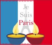 Ono modli się dla Paryż Zdjęcia Royalty Free