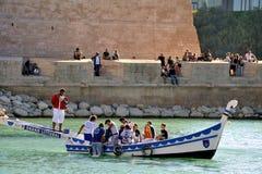 Ono potyka się na starym porcie Marseille Fotografia Royalty Free