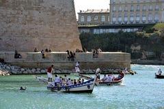Ono potyka się na starym porcie Marseille Fotografia Stock