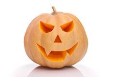 Ono uśmiecha się Halloweenowa bania Obraz Royalty Free