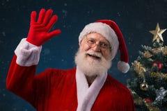 Ono uśmiecha się Santa Claus obraz royalty free