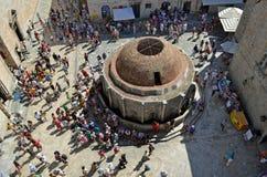 Onofrain Fountain Dubrovnik Royalty Free Stock Photography