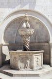 Onofrio fontanna w Dubrovnik, Chorwacja Obrazy Royalty Free