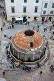 Onofrio Fountain in Ragusa fotografia stock