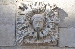 Onofrio` s Fonteinen in oude stad Dubrovnik, Kroatië Stock Afbeelding