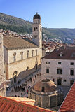Onofrio's Fountain, Old town of Dubrovnik Royalty Free Stock Photo