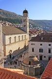 Onofrios Brunnen, alte Stadt von Dubrovnik Lizenzfreies Stockfoto