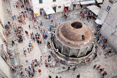 Onofrios springbrunn, Dubrovnik Royaltyfria Foton