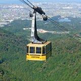 Onohara cableway Japan stock photo