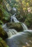 Onomea Falls Hawaii Stock Photography