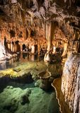 Onondaga Cave Formations Stock Photo
