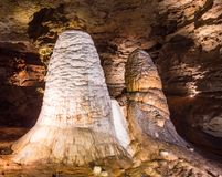 Onondaga Cave Formations Stock Image