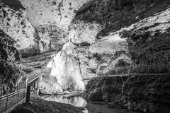 Onondaga Cave Formations Stock Photography