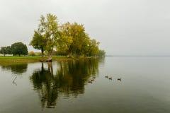 Onondaga Lake and Park Royalty Free Stock Photo