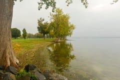 Onondaga Lake and Park Stock Images