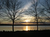 Onondaga Sunset Stock Image