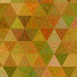 Ononderbroken Kleurrijk Veelhoekig Patroon Geometrisch Driehoeks Abstract Patroon stock illustratie
