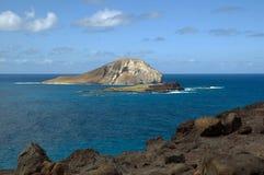 Onontgonnen land in Hawaï royalty-vrije stock afbeeldingen